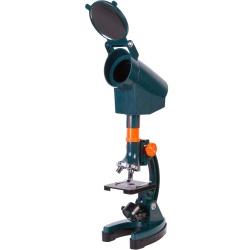 Mikroskop dla dzieci z wbudowanym projektorem Levenhuk LabZZ M3 zestaw w walizce