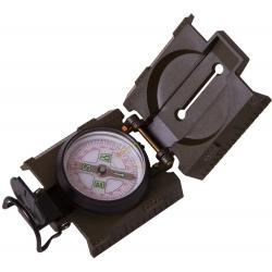 Kompas z płynem szczerbinką celowniczą i wbudowanym podświetleniem Levenhuk DC65