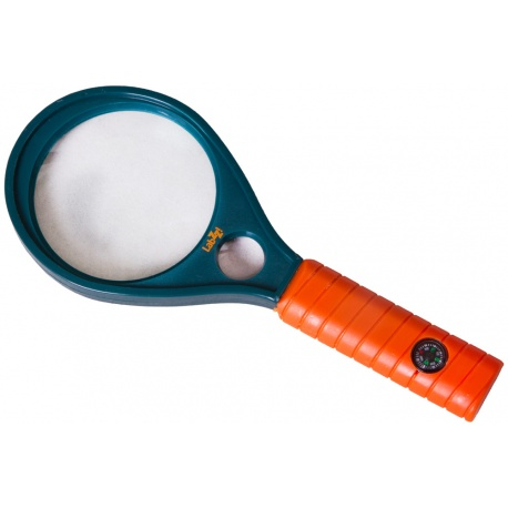 Lupa dla dzieci i czytania Levenhuk LabZZ MG1 wbudowany kompas