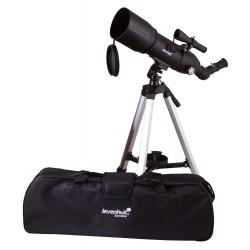 Teleskop Levenhuk Skyline Travel 80 krótki tubus optyczny przenośny z plecakiem
