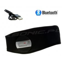 Sportowa opaska do biegania z wbudowanym zestawem Bluetooth GLOVii