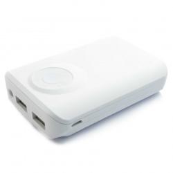 Powerbank 8400 mAh 2.1A na dwa urządzenia wskaźnik poziomu napięcia 2 kolory