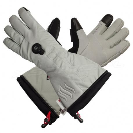 Profesjonalne i najwyższej jakości ogrzewane rękawice narciarskie GLOVii GS8 membrana Hypora z tkaniną Thinsulate