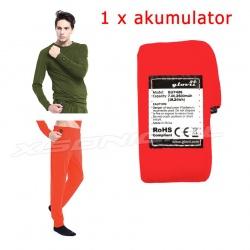 Oryginalny akumulator do ogrzewanej bluzy i spodni GLOVii GP1 i GJ1 zapasowy
