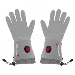 Ogrzewane rękawice GLG GLOVii szare z akumulatorem uniwersalne dotyk