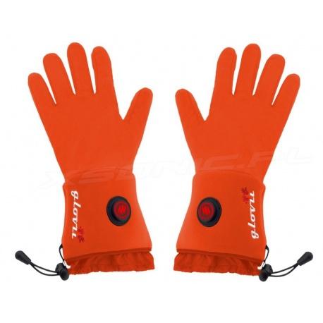 Ogrzewane rękawice GLR GLOVii pomarańczowe z akumulatorem uniwersalne