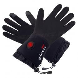 Ogrzewane rękawice GLB GLOVii czarne z akumulatorem uniwersalne