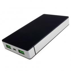 Power Bank 10000mAh przenośna ładowarka microUSB miniUSB Lightning 8-pin