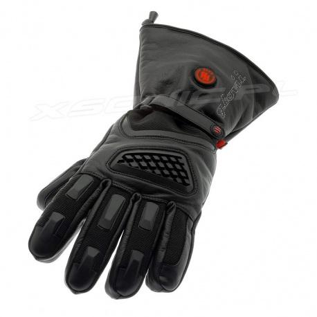 Ogrzewane rękawice motocyklowe GLOVii GS1 Hypora z tkaniną Thinsulate dotyk
