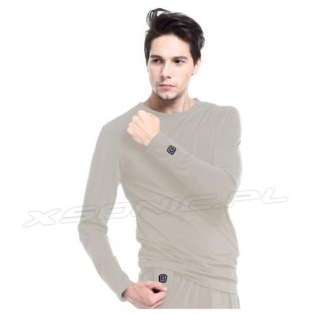 Ogrzewana koszulka 3 tryby grzania GJ1G GLOVii grzejąca bluza termoaktywna S/M/L/XL
