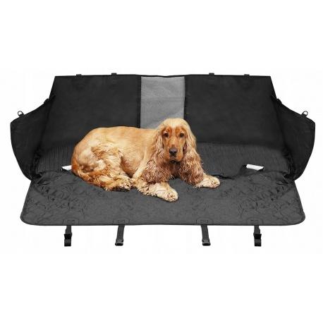 Uniwersalny pokrowiec na siedzenie do samochodu zabudowana mata dla psa