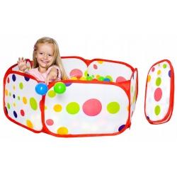 Suchy basen rozkładany pop-up kojec na piłki plac zabaw dla dzieci