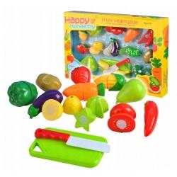 Sztuczne warzywa owoce do krojenia na rzep deska i nóż dla dzieci