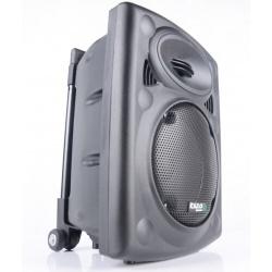Kolumna mobilna z uchwytem na kółkach Ibiza Sound PORT8VHF-BT funkcja bluetooth odtwarzacz mp3