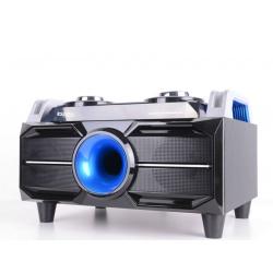 Zestaw nagłośnieniowy głośnik przenośny Ibiza Sound o mocy 120W USB SD FM Bluetooth podświetlenie LED pilot