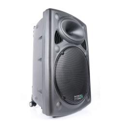 Aktywna kolumna mobilna Ibiza Sound PORT15UHF-BT z odtwarzaczem MP3 SD US tunerem FM oraz odbiornikiem