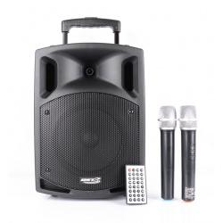 Kolumna mobilna BST NOMAD8UHF moc 100W odtwarzacz CD Bluetooth wejście mikrofonowe