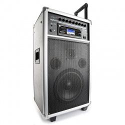 Mobilny zestaw nagłośnieniowy Vonyx ST100 MK2 wzmacniacz 250W port USB SD MMC Bluetooth