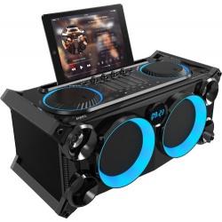 Mobilne nagłośnienie Boombox Ibiza SPLBOX200-BK radio FM USB SD stacja na tablet