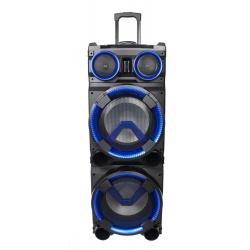 Mobilna kolumna z LED Ibiza STANDUP-DJ-MKII akumulator o dużej pojemności