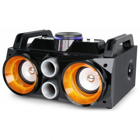 Boombox Fenton Party Station MDJ100 100W z akumulatorem diody LED