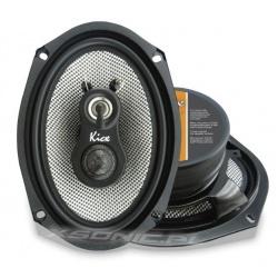 Głośniki samochodowe 3-drożne Kicx 110W GFQ 693 jajka 6x9