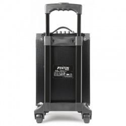 Mobilne nagłośnienie kolumna głośniki Fenton ST050 130W mikrofon bezprzewodowy VHF