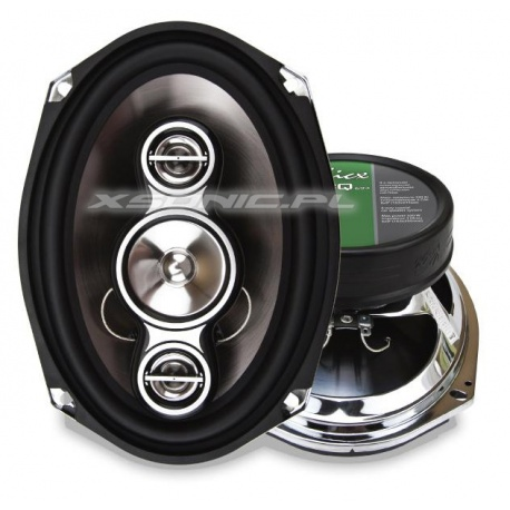 Głośniki samochodowe 4-drożne Kicx ICQ 694 moc 160W 6x9 w półkę