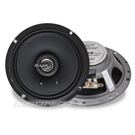 Głośniki samochodowe 2-drożne Kicx SL 165 szerokopasmowe współosiowe 50W