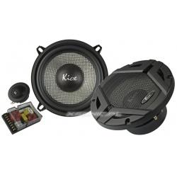 Głośniki smochodowe Kicx GFQ 5.2 zestaw 80/160W odseparowane bass sopran