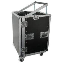 """Skrzynia na kółkach do ochrony i transportu sprzętu scenicznego Power Dynamics 12U 19"""""""