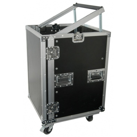 Skrzynia na kółkach do ochrony i transportu sprzętu scenicznego Power Dynamics 12U 19