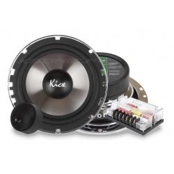 Głośniki dwudrożne 165mm ICQ 6.2 samochodowe odseparowane Kicx 125/250W