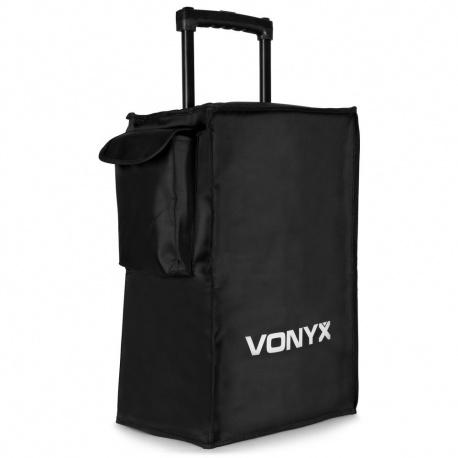 Pokrowiec na kolumny z serii AP lub SPJ 12 cali firmy VONYX chroni przed zadrapaniami i uszkodzeniami