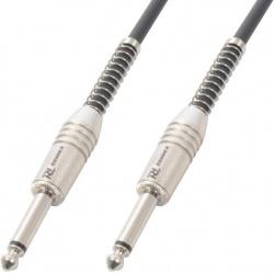 Kabel gitarowy Jack 6.3 mm mono - Jack 6.3 mm mono PD Connex o długości 3 metrów