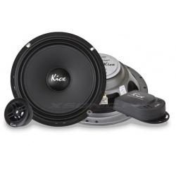 Głośniki samochodowe syczki i basy 165mm mocne zwrotnice SL 6.2 zestaw