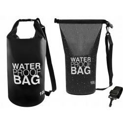 Worek wodoodporny wodoszczelny torba na Kajak 10l na ramię