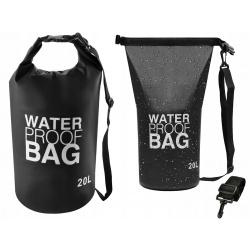 Worek wodoodporny wodoszczelny torba na kajak 20l na ramię