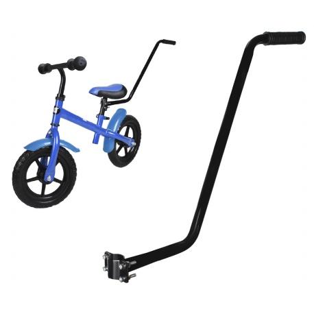 Popychacz do rowerka roweru prowadnik kij rączka do nauki jazdy