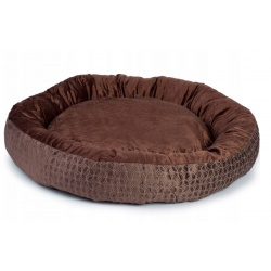 Legowisko okrągłe dla psa kota zwierząt 70x60cm kojec kanapa ciepłe
