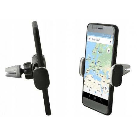 Uchwyt na smartfon do samochodu na kratkę nawiewu do telefonu