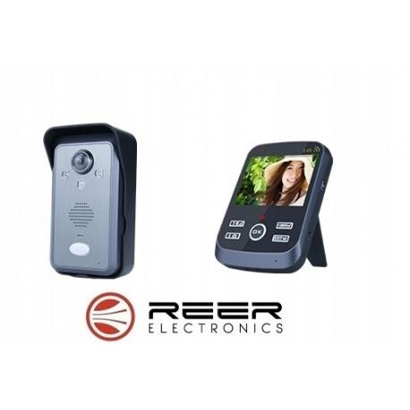 Wideodomofon bezprzewodowy wyświetlacz LCD 3,5 cala poręczna słuchawka czujnik zmierzchowy czujnik ruchu