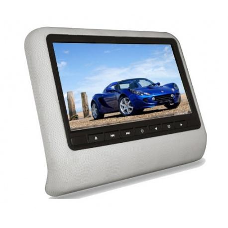 Monitor 7 cali na zagłówek samochodowy DVD USB SD przenośny napęd DVD IR FM