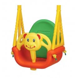 Huśtawka bezpieczna 3w1 dla małych dzieci Bear Swing od 6 miesięcy do 7 lat