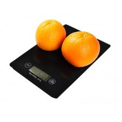 Waga kuchenna płaska LCD do 5kg co 1 gram szklana hartowana