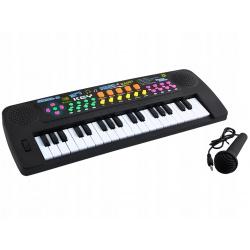 Keyboard organy radio nagrywanie 37 klawiszy pianino dla dzieci mikrofon