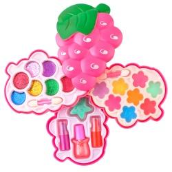 Zestaw kosmetyki dla dzieci do robienia makijażu paznokci twarzy szminki