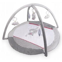Mata edukacyjna miękka pluszowa dla niemowląt Królik 90 x 45 niemowlaka