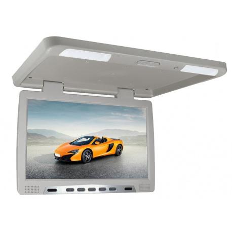 Monitor podwieszany LED Glare 17 cali multimedialny odtwarzacz plików SD USB IR