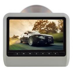 Odtwarzacz DVD 10' monitor samochodowy na zagłówek LCD HD SD USB IR FM